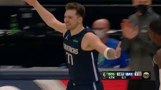 Luka Doncic Hits Another Step-Back Game-Winner From His Favorite Spot vs. Celtics
