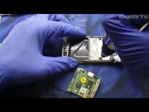 Samsung D900i - naprawa taśmy - disassembly = repair flex lcd