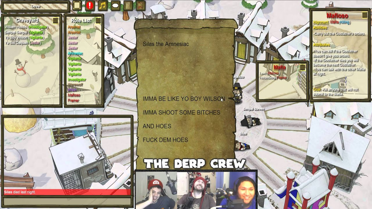 Love Hurts The Derp Crew Town Of Salem Part 45 Youtube