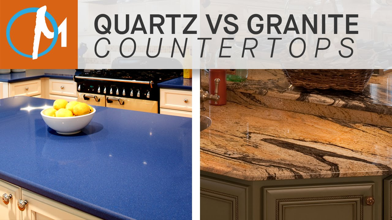 Quartz Vs Granite Countertops Youtube