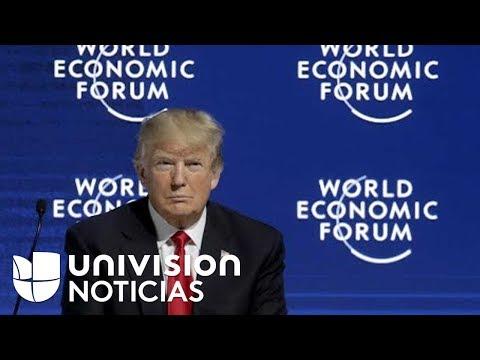 Video: Trump defiende su visión nacionalista en el Foro Económico de Davos
