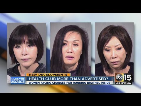 Health club workers arrested in prostitution ring