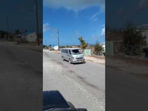 Barbuda post hurricane Irma