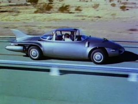 From 1956: A future vision of driverless cars