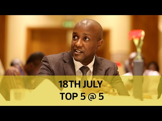 18th July Top 5 @ 5