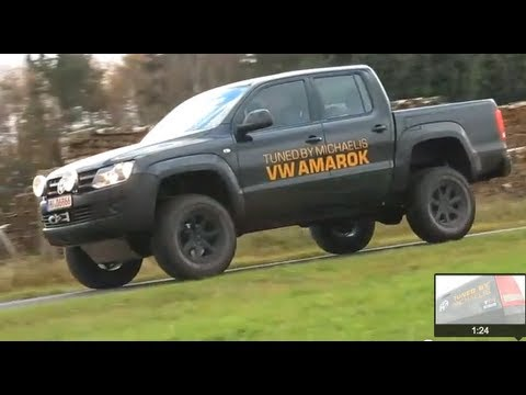 Vw Amarok Modified >> VW-Amarok Body-Lift & tuned..! Test in Action - YouTube
