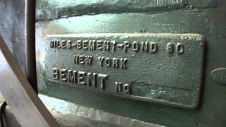 1,000 weight Niles Bement Pond Steam hammer