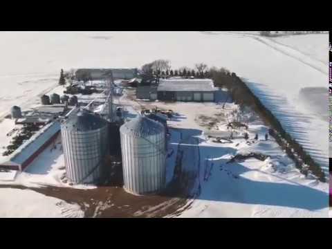 Larson Farms Ariel View Youtube