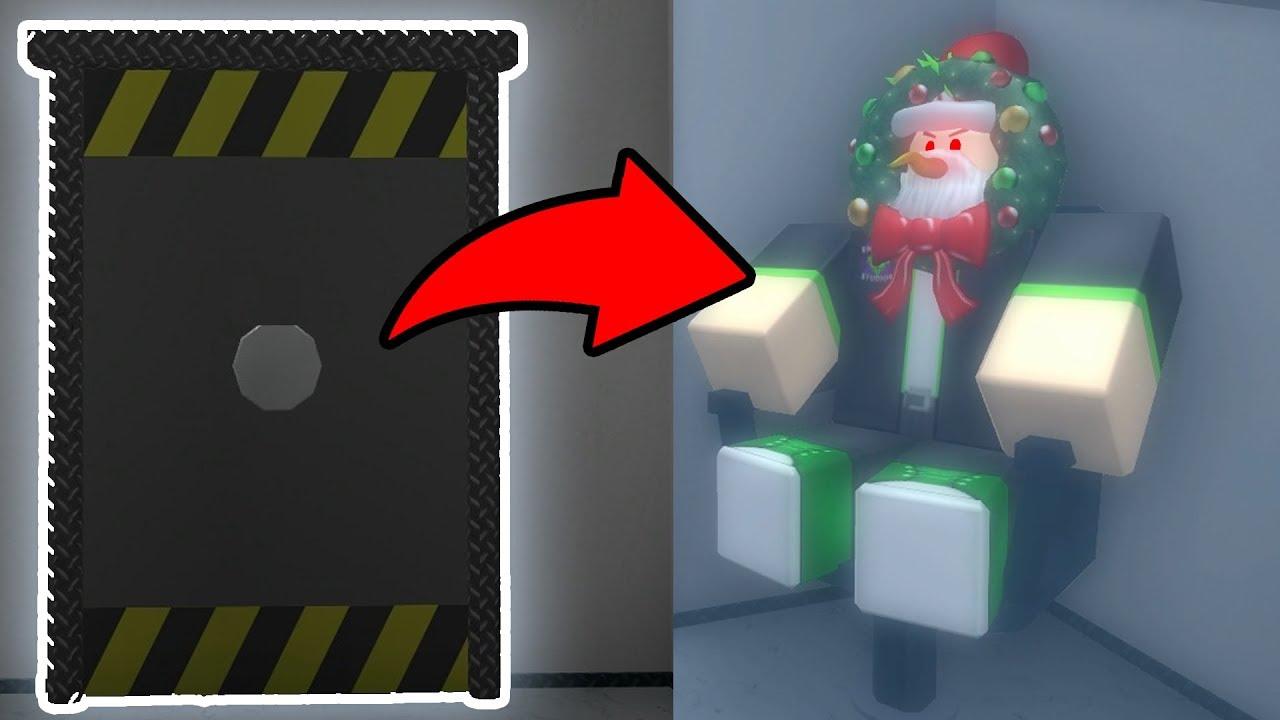 Hidden Christmas Secret In Lobby Roblox Murder Mystery 2 Youtube
