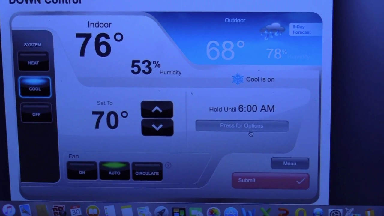 how to connect honeywell wifi smart thermostat