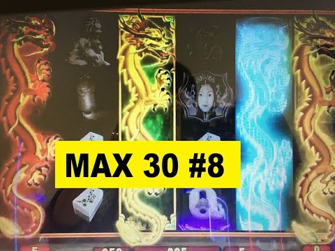 ★MAX 30 ( #8 ) Series ! ★☆Dragons over Nanjing Slot machine (WMS)☆$2.50 MAX BET