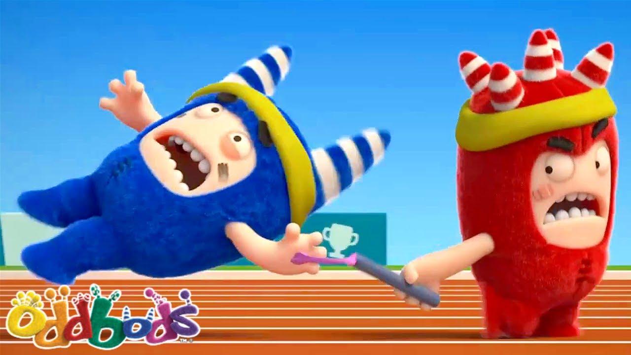Bitiş Çizgisine Yarış! | Oddbods | YENİ | Çocuklar Için Çizgi Filmler