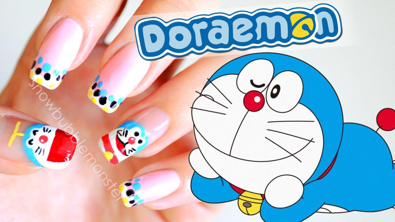 Doraemon Nails Snowbubblemonster Youtube