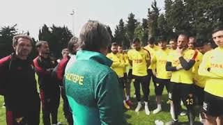 Video 160 | Göztepe'de Başkan Mehmet Sepil'in Oyunculara Motivasyon Konusması