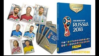 COMPLETING  FIFA WORLD CUP RUSSIA 2018 STICKER ALBUM