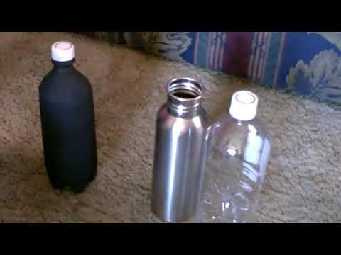Solar Bottle In Bottle Water Heater Diy Plastic Soda Bottle Heater Heats Food Too