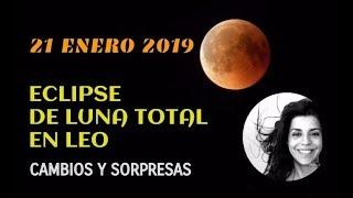 Eclipse de Luna total 20- 21 de enero: tiempos de cambios y sorpresas