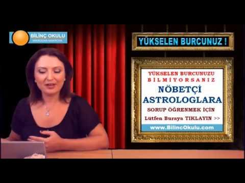 KOÇ Burcu Astroloji Yorumu  07 Ekim 2013  Astrolog DEMET BALTACI   astroloji, astrology