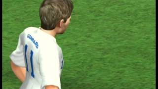 FIFA 11 (Wii) Gameplay: England vs Brazil