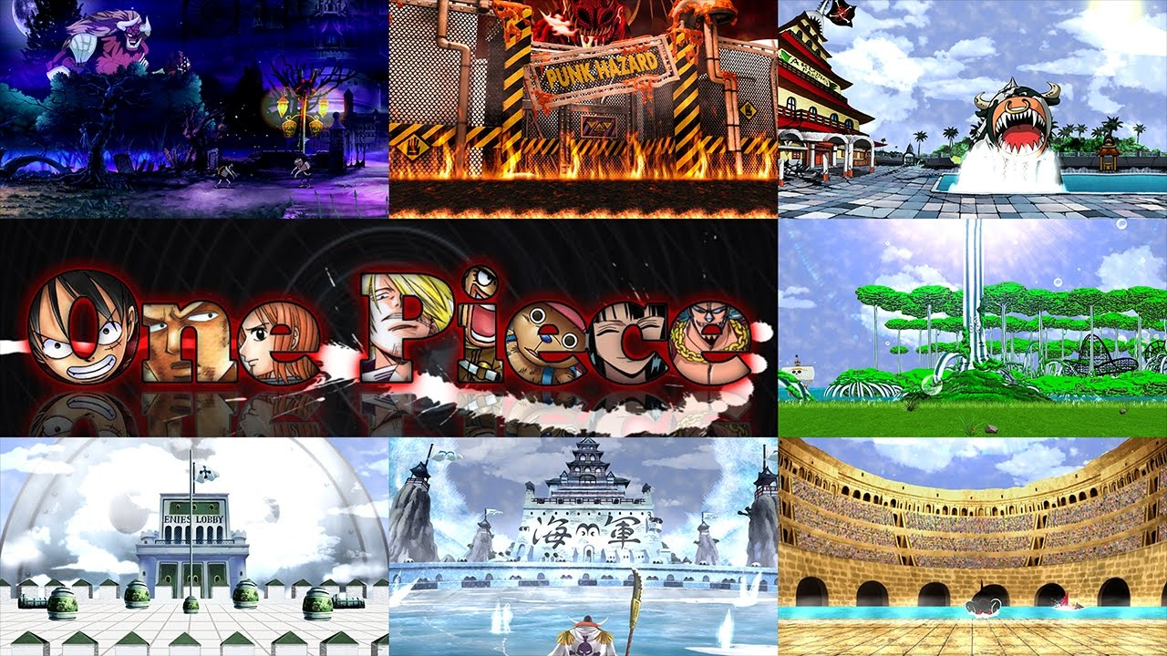 Stages Mugen 1 1 720p Hr Pack9 One Piece Youtube