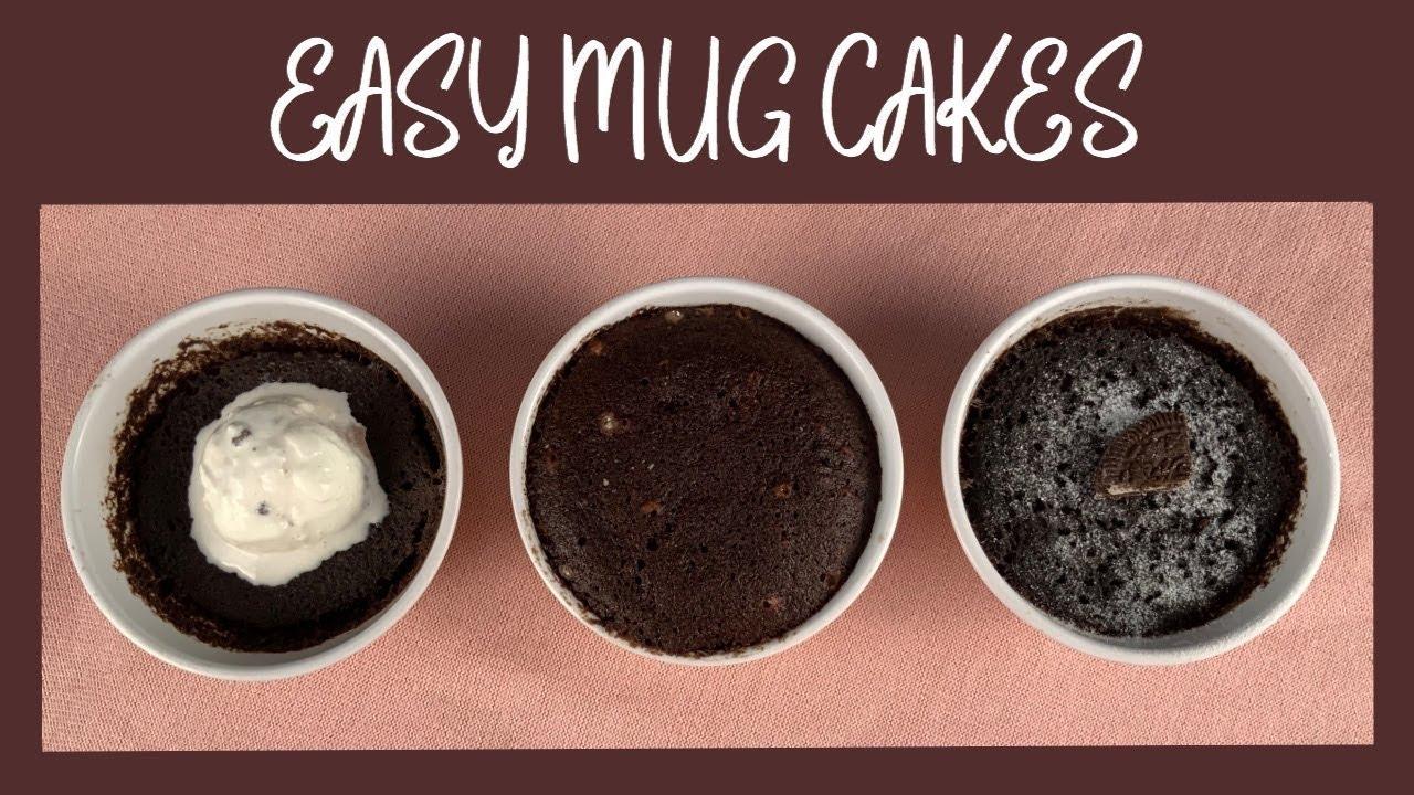 Easy Mug Cakes | Eggless | Best Microwave Mug Cake Recipe ...