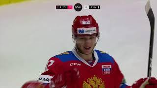 ШВЕДСКИЕ ХОККЕЙНЫЕ ИГРЫ-2021. Россия – Финляндия. Обзор матча
