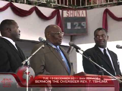 The Apostolic Faith Mission of Africa - 2011 Annual Campmeeting (13/12/11 Morning Service)