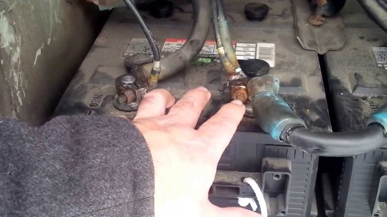 How to charge a 24 volt battery system on a D series MCI