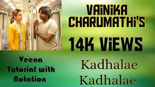 #1 Veena Tutorial 96 kadhalae Kadhalae | Veena | Vainika Charumathi