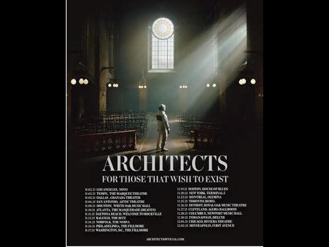 """Architects announce North American """"For Those That Wish To Exist"""" rour 2021!"""