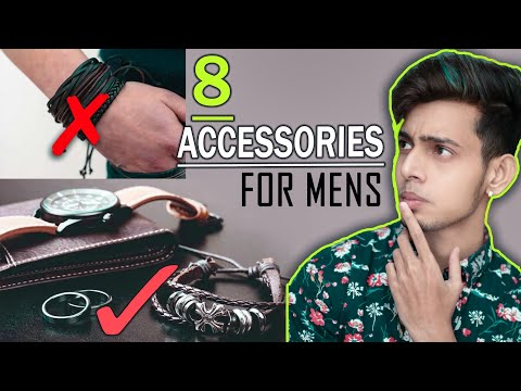 Men's fashion accessories you must need to look more handsome | SAYAN