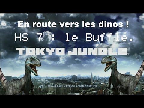 Tokyo Jungle : En route vers les dinos Hs #7 Buffle vs Hyppo.