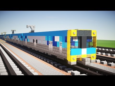 Minecraft Metro Melbourne EDi Comeng EMU Tutorial