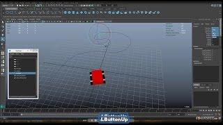 8) Уроки Autodesk Maya 2016. Анимация по кривой и анимация камеры.