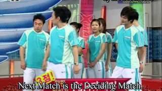 Funny Elimination Game PART 10 ( eng sub ) ( feat. H.O.T. Tony Ahn + Lee Hyuk Jae )