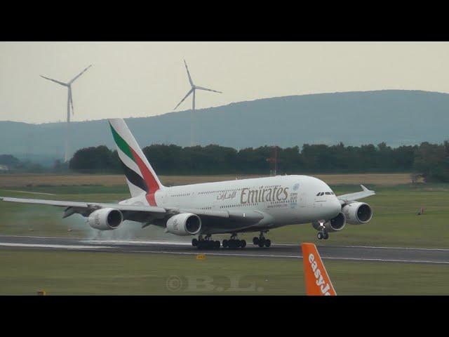 25+ Minutes Of HD Planespotting - Flughafen Wien-Schwechat (A380, B787, B748, B747, B777,...)