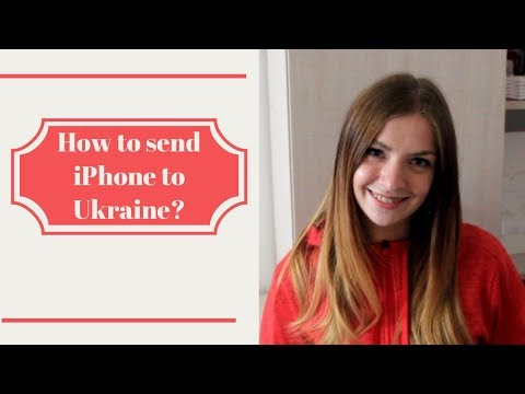 How to send phone or laptop to Ukraine?