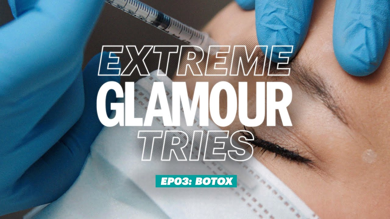 Extreme Glamour Tries: Botox Reviewed On Video | GLAMOUR UK