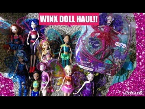 WINX CLUB DOLL HAUL!! JAKKS PACIFIC BELIEVIX AND SIRENIX DOLLS!!