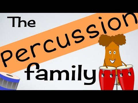 Percussion Instruments for kids (INSTs 4) | Musical Instruments | Green Bean's Music