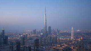 Burj Khalifa Sunset TimeLapse