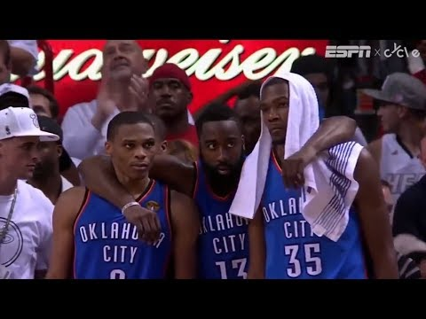 BUCKETS   James Harden and Russell Westbrook have a bond that runs deep