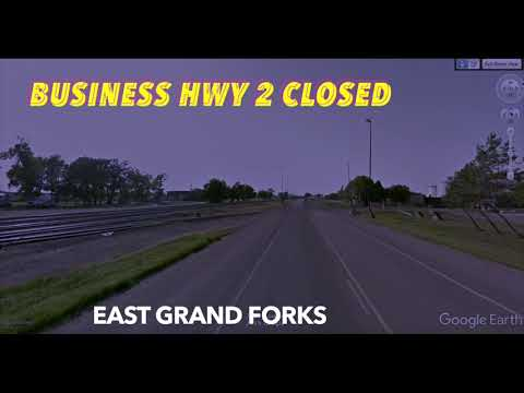 DETOUR: Business Highway 2 Into East Grand Forks Closed