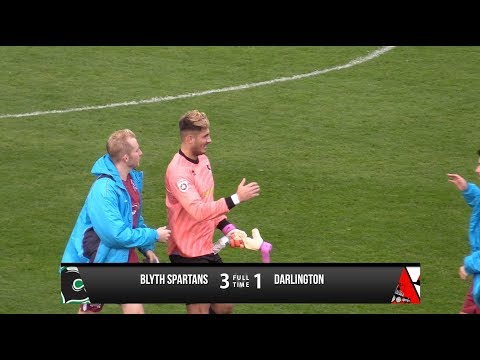 Blyth Spartans 3-1 Darlington - Vanarama National League North - 2017/18