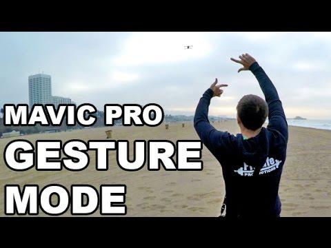 DJI MAVIC PRO - Gesture Mode - Testing & Samples