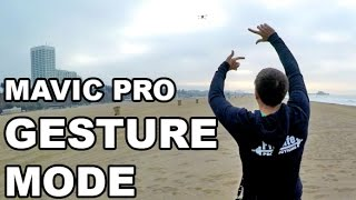 DJI MAVIC PRO - Gesture Mode - Testing & Samples