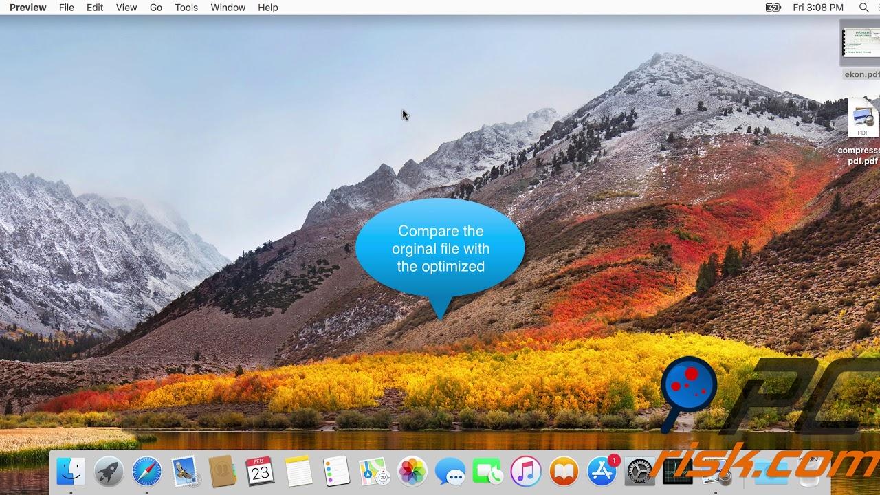 Mac pdf optimizer