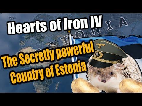 Hearts Of Iron 4: ESTONIA THE SECRET SUPERPOWER