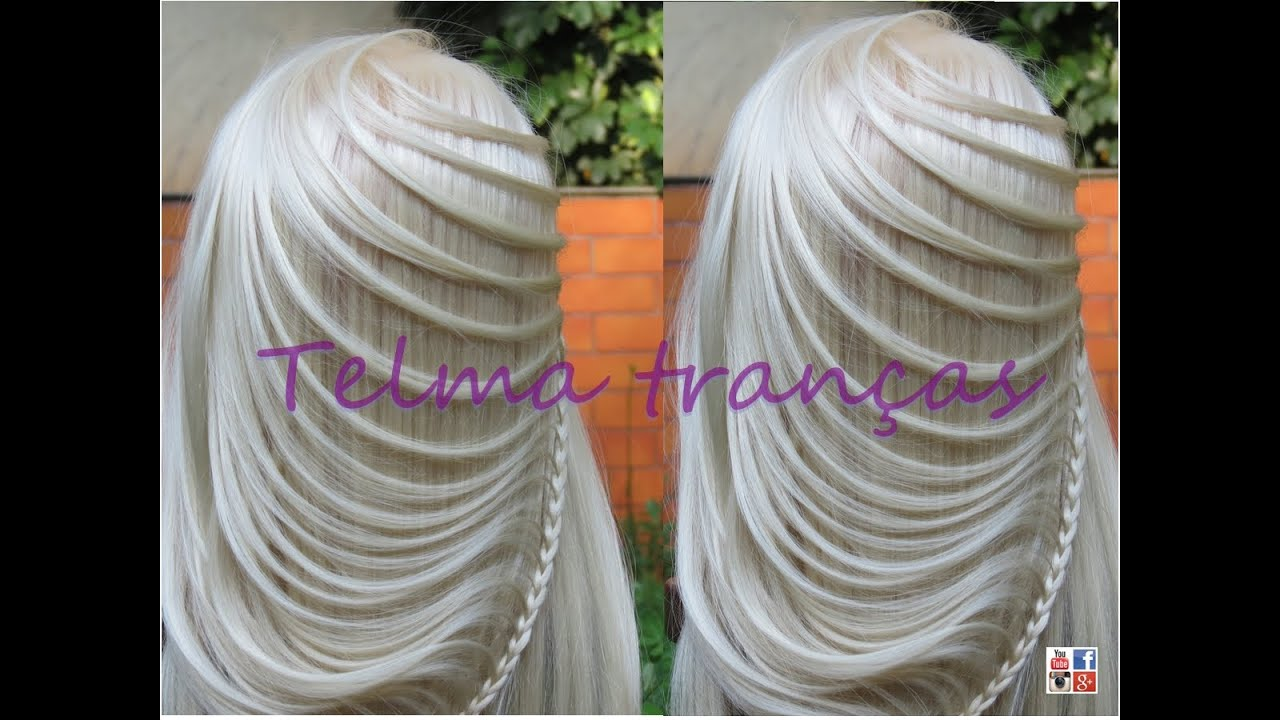 Try On Different Hair Styles: Trança Ellipse, Different Braid Hairstyle, Con Leyeda