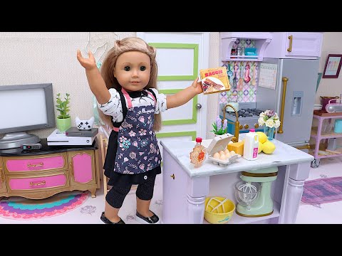Baby Doll Cooking Adventure in the Kitchen I PLAY TOYS